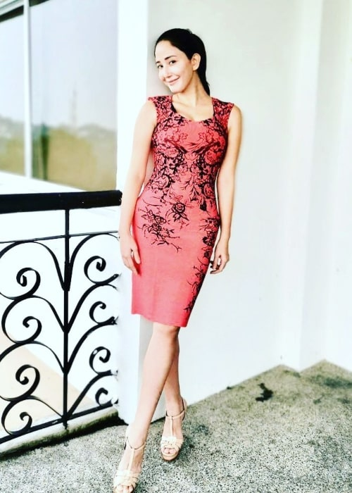 Katrina Halili as seen in a picture that was taken in October 2020