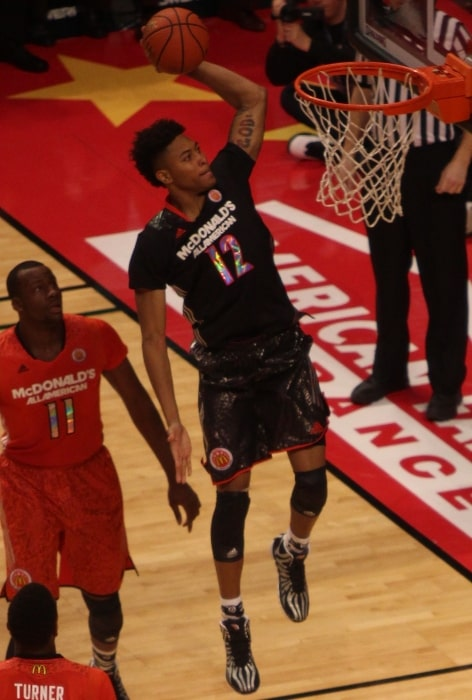 Kelly Oubre Jr. pictured during the 2014 McDonald's All-American Boys Game