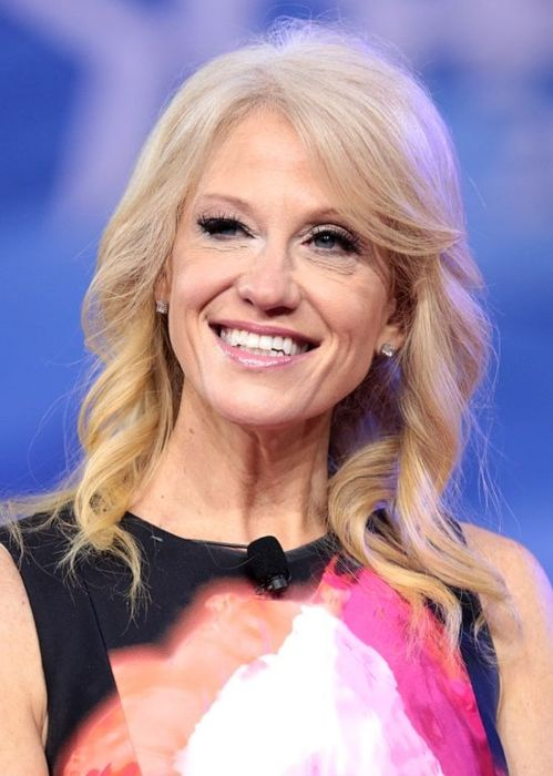 Kellyanne as seen at the 2017 CPAC in Maryland