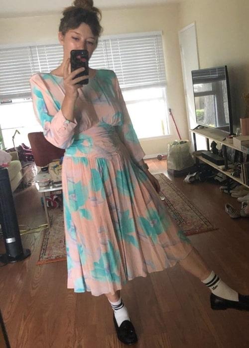 Kimmy Shields as seen in a selfie that was taken in August 2020