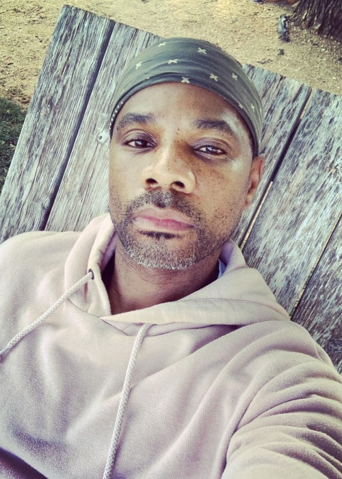 Kirk Franklin in an Instagram selfie from April 2020