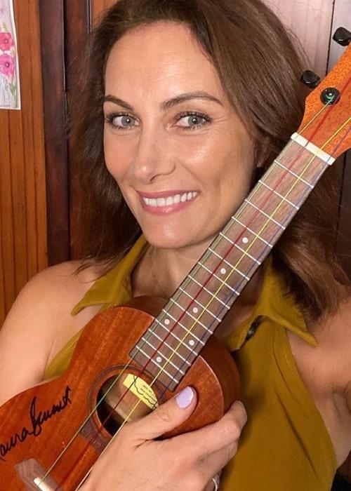 Laura Benanti as seen in a selfie that was taken in August 2020