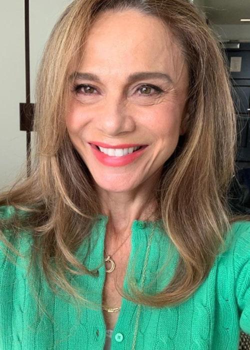 Lena Olin in an Instagram selfie from September 2020