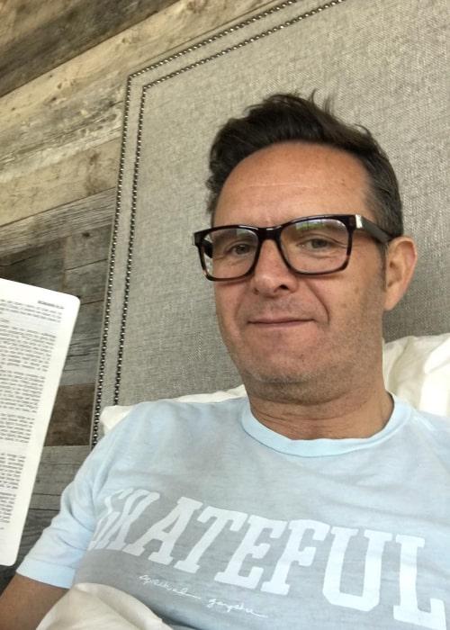 Mark Burnett in an Instagram selfie from March 2016