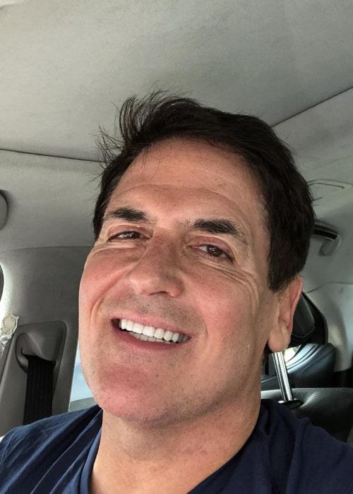 Mark Cuban in an Instagram selfie from June 2018