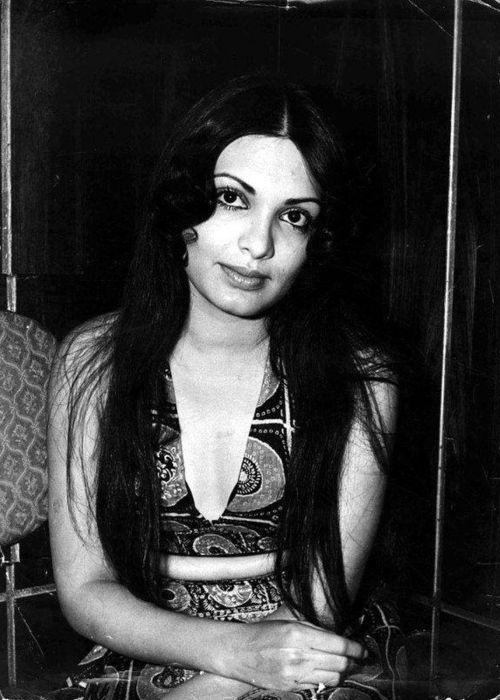 Parveen Babi as seen posing for a camera
