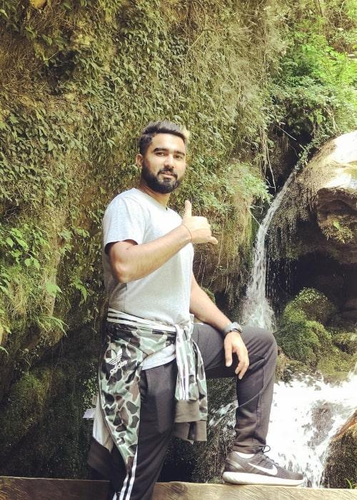 Rahul Tewatia as seen in an Instagram Post in May 2018
