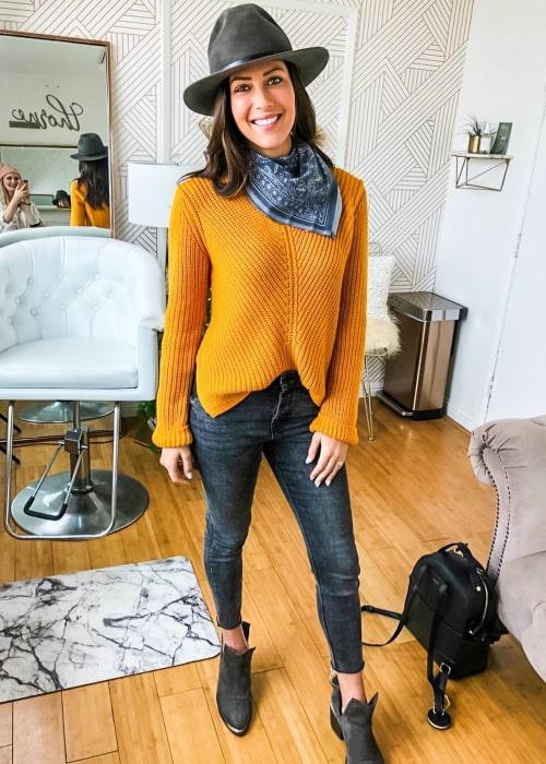 Rebecca Kufrin as seen in an Instagram Post in January 2020