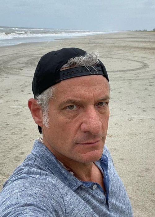 Rick Leventhal in an Instagram selfie from August 2020