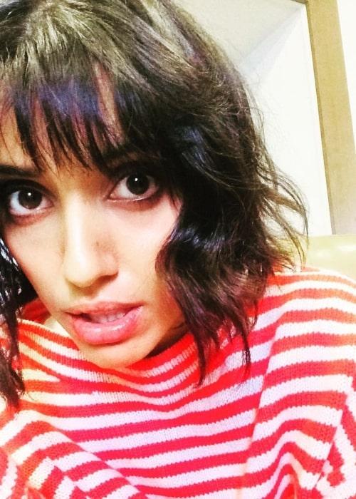Ritu Arya as seen in a selfie that was taken in February 2019