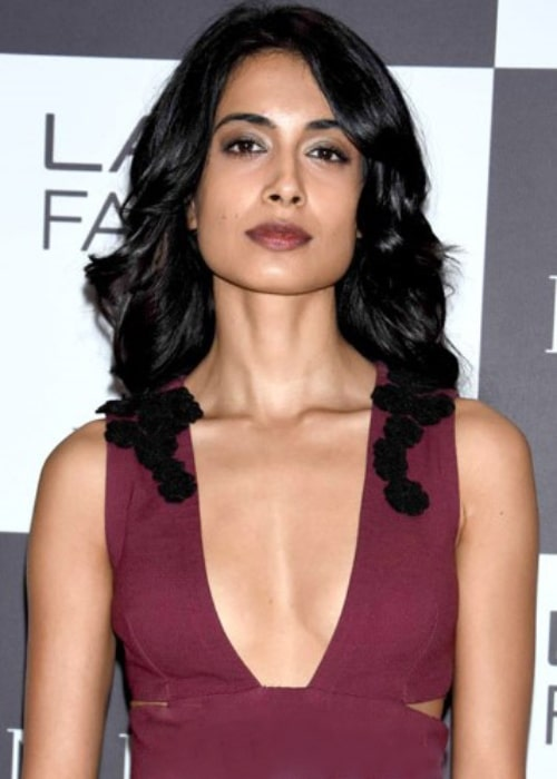 Sarah-Jane Dias pictured on Day 3 of Lakme Fashion Week 2017