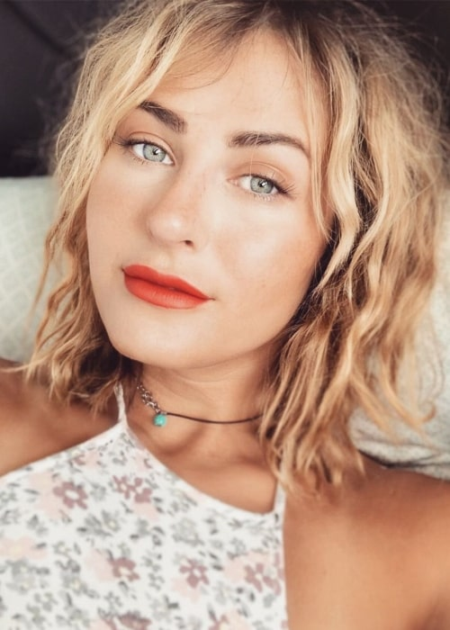 Scout Taylor-Compton as seen in a selfie that was taken in May 2020