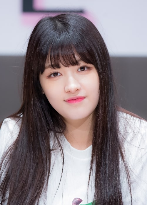 Seunghee at a fan-event in March 2016