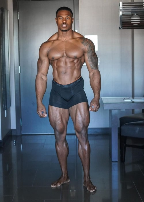 Simeon Panda as seen in a picture that was taken in October 2020