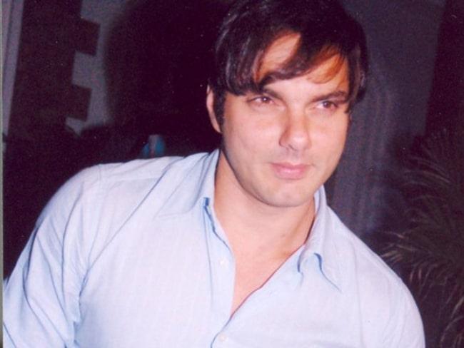 Sohail Khan as seen at the marriage bash of Aashish Chaudhary and Samita Bangargi in January 2006
