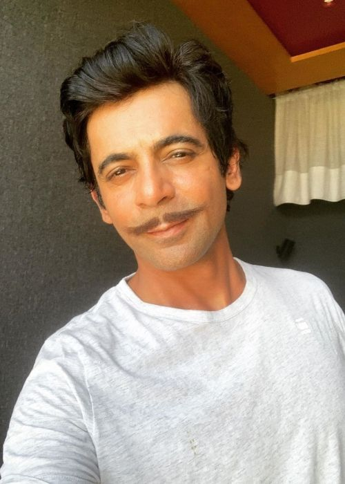 Sunil Grover as seen in March 2020