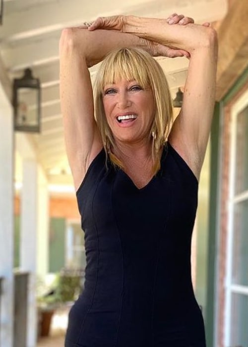 Suzanne Somers as seen in an Instagram Post in August 2020
