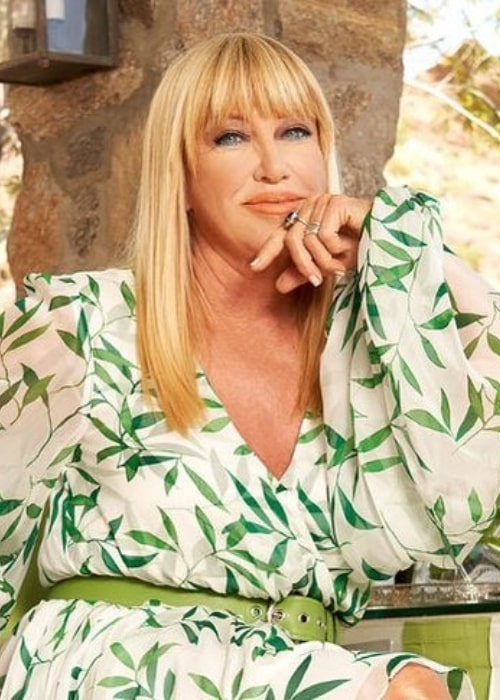 Suzanne Somers as seen in an Instagram Post in September 2020