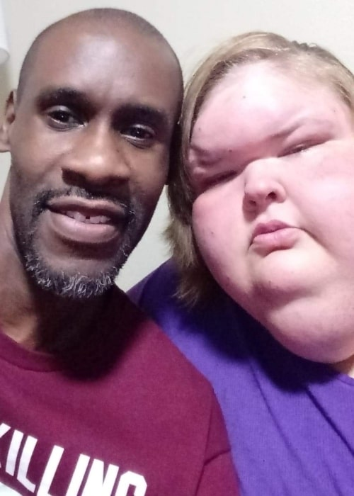 Tammy Slaton as seen in a selfie that was taken with her bae Jerry Sykes in February 2020