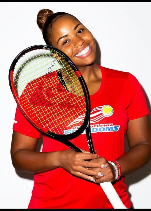 Taylor Townsend as seen in an Instagram Post in March 2020