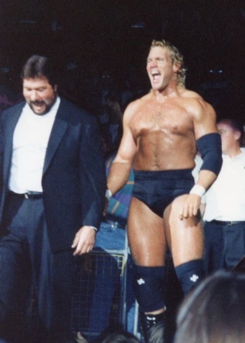 Ted DiBiase managing Sycho Sid in The Million Dollar Corporation on February 21, 2012