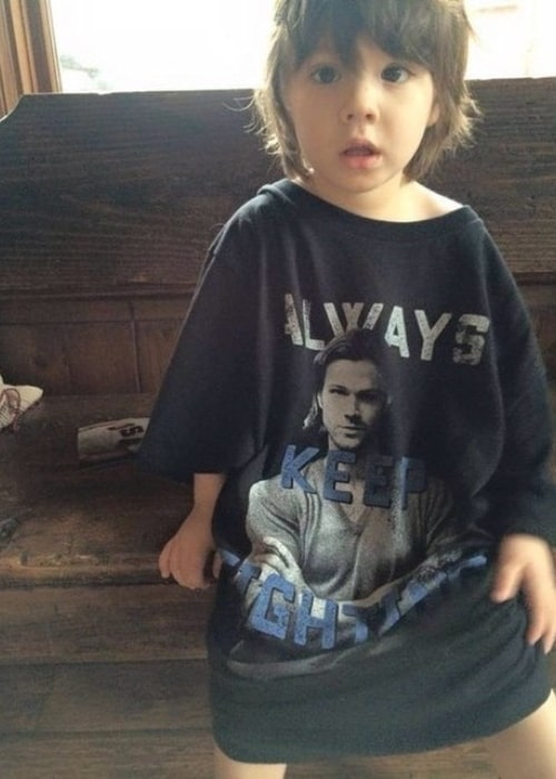 Thomas Colton Padalecki as seen in a picture that was taken in the past