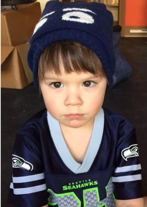 Thomas Colton Padalecki in a picture that was taken of him in the past