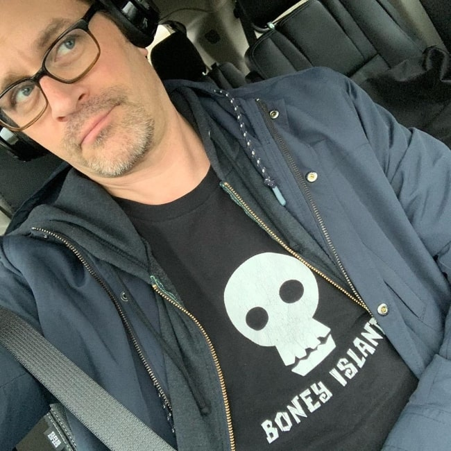 Tom Everett Scott as seen in a selfie in October 2019