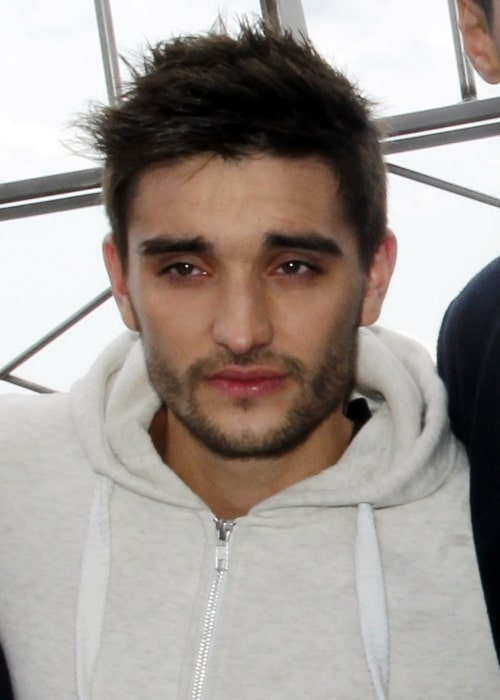 Tom Parker pictured at the Empire State Building Observation Deck in New York City in April 2012