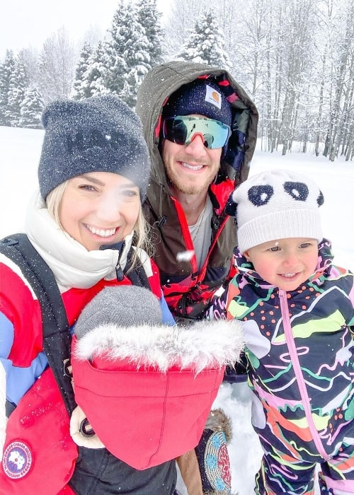 Tyler Hubbard as seen while enjoying family time in December 2019