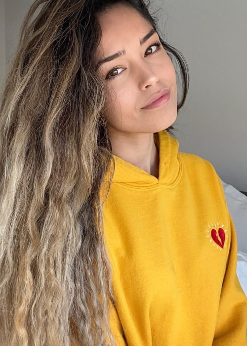 Valkyrae as seen in an Instagram Post in April 2020