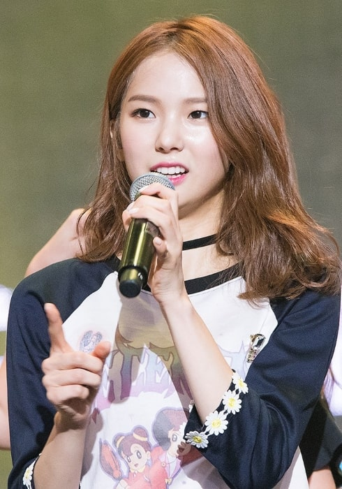 Yujin as seen at the MTV Asia Music Stage in March 2016