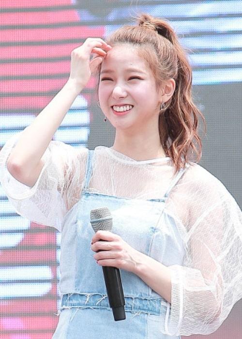 Yujin as seen in June 2017