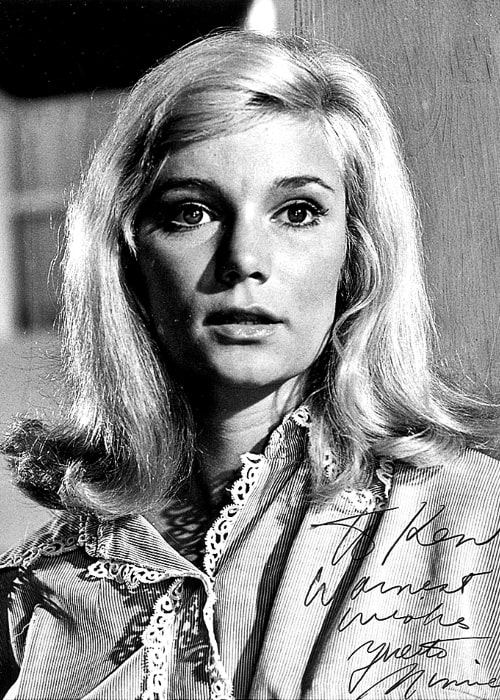 Yvette Mimieux as seen in a publicity photo circa 1975
