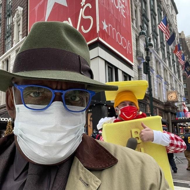 Al Roker at Macy's Thanksgiving Day Parade in November 2020