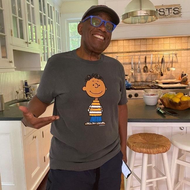 Al Roker in June 2020 wearing his favorite T-shirt