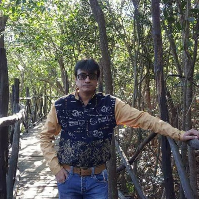 Amit Bhatt as seen in an Instagram post in October 2020