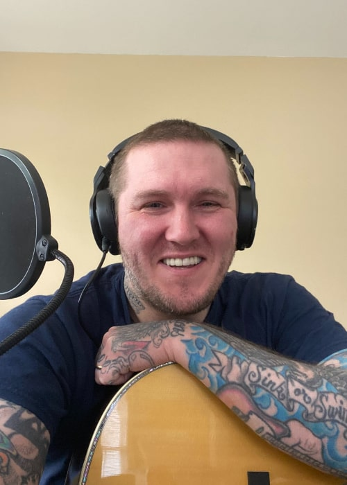 Brian Fallon as seen in a Twitter Post in May 2020