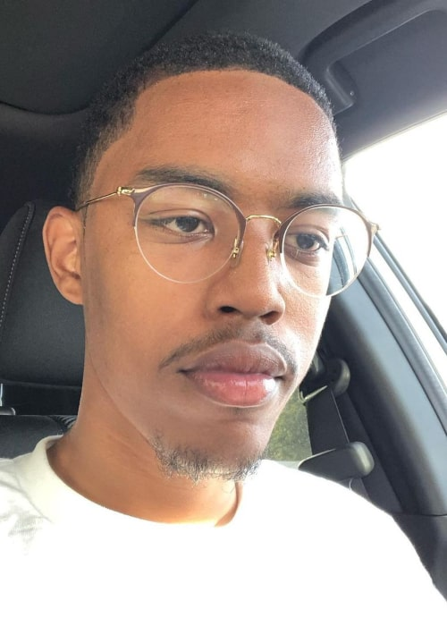 CalebCity in an Instagram selfie from August 2019