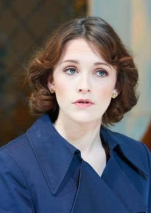Charlotte Ritchie in a still from the play The Philanthropist in 2017