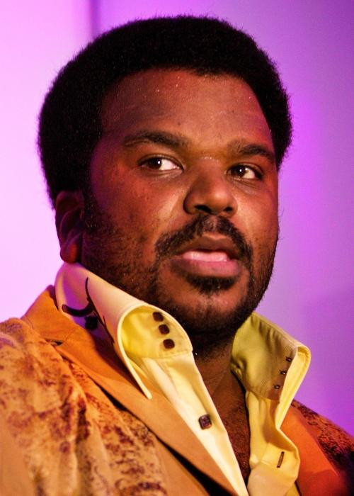 Craig Robinson as seen in a picture that was taken in February 2009