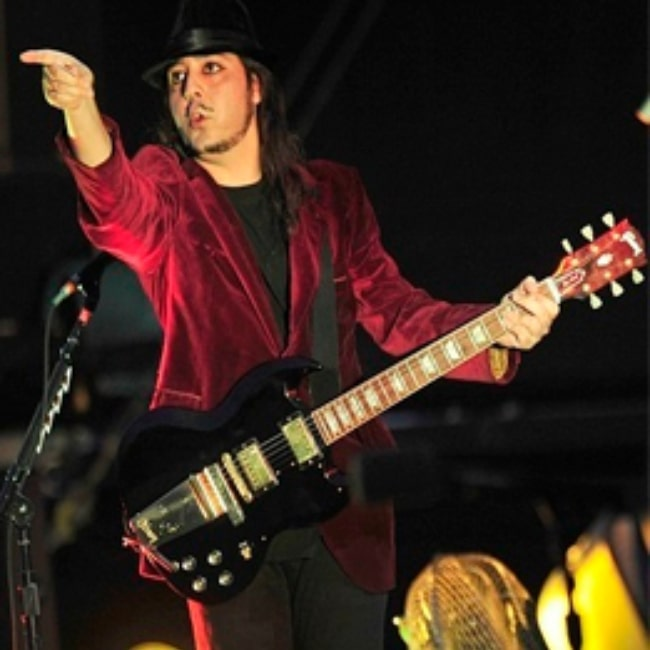 Daron Malakian pictured while performing with System of a Down in 2011