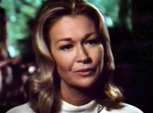 Diane Ladd seen as Martha Douglas in the 1976 film Embryo