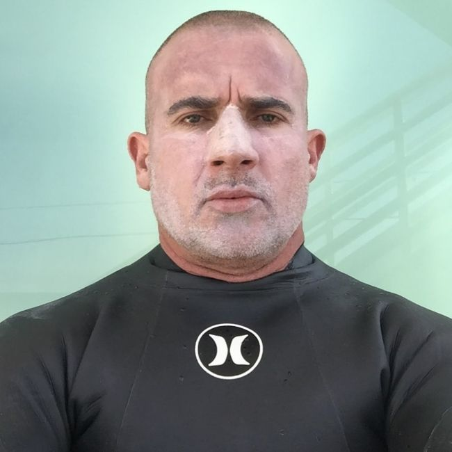 Dominic Purcell as seen in April 2020