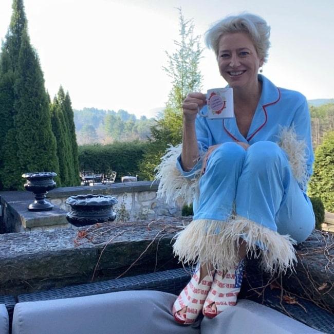 Dorinda Medley in November 2020 trying to make things nice despite facing an untoward situation