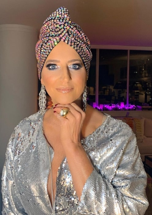 Dorinda Medley in September 2020 stating that although she may not be a fortuneteller she is sure that everyone needs to vote