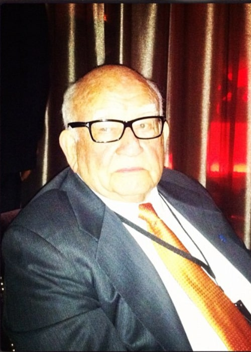 Ed Asner as seen in an Instagram Post in May 2012