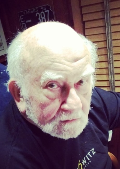 Ed Asner in an Instagram selfie from July 2014
