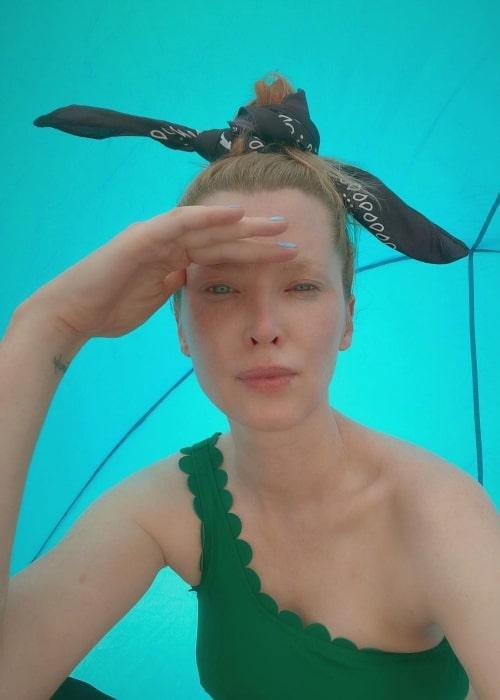 Emma Booth as seen in a selfie that was taken September 2020
