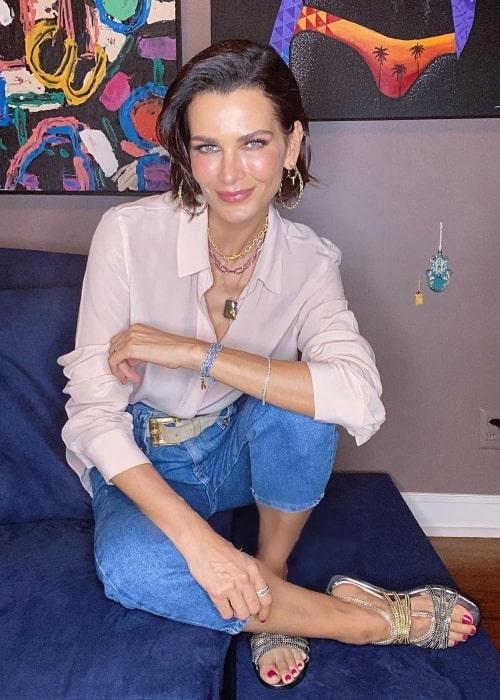 Fernanda Motta as seen in a picture that was taken in October 2020